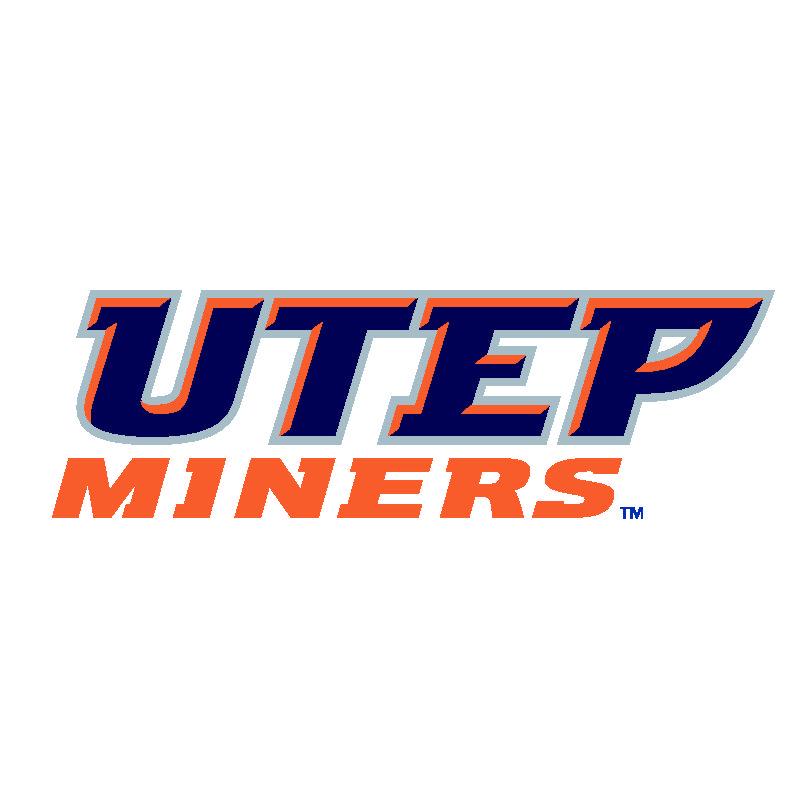 Utep Miners Logo Utep Basketball Logo